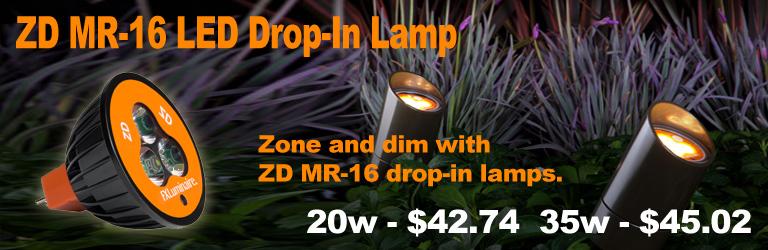ZD MR-16 LED Drip-In Lamp