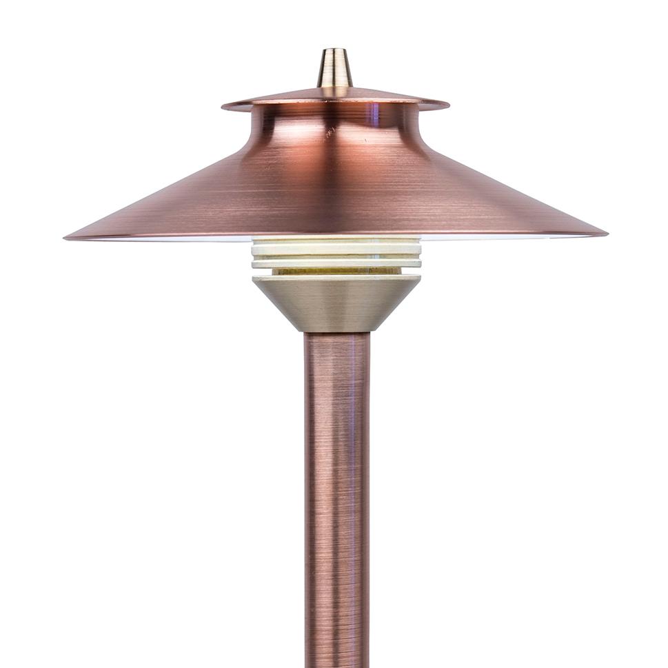 fx luminaire dm led path light sierra irrigation